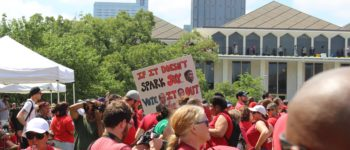 NCAE puts legislature in sights and pushes outrage button